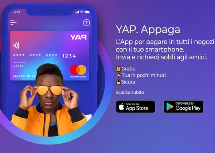 23€ bonus con YAP
